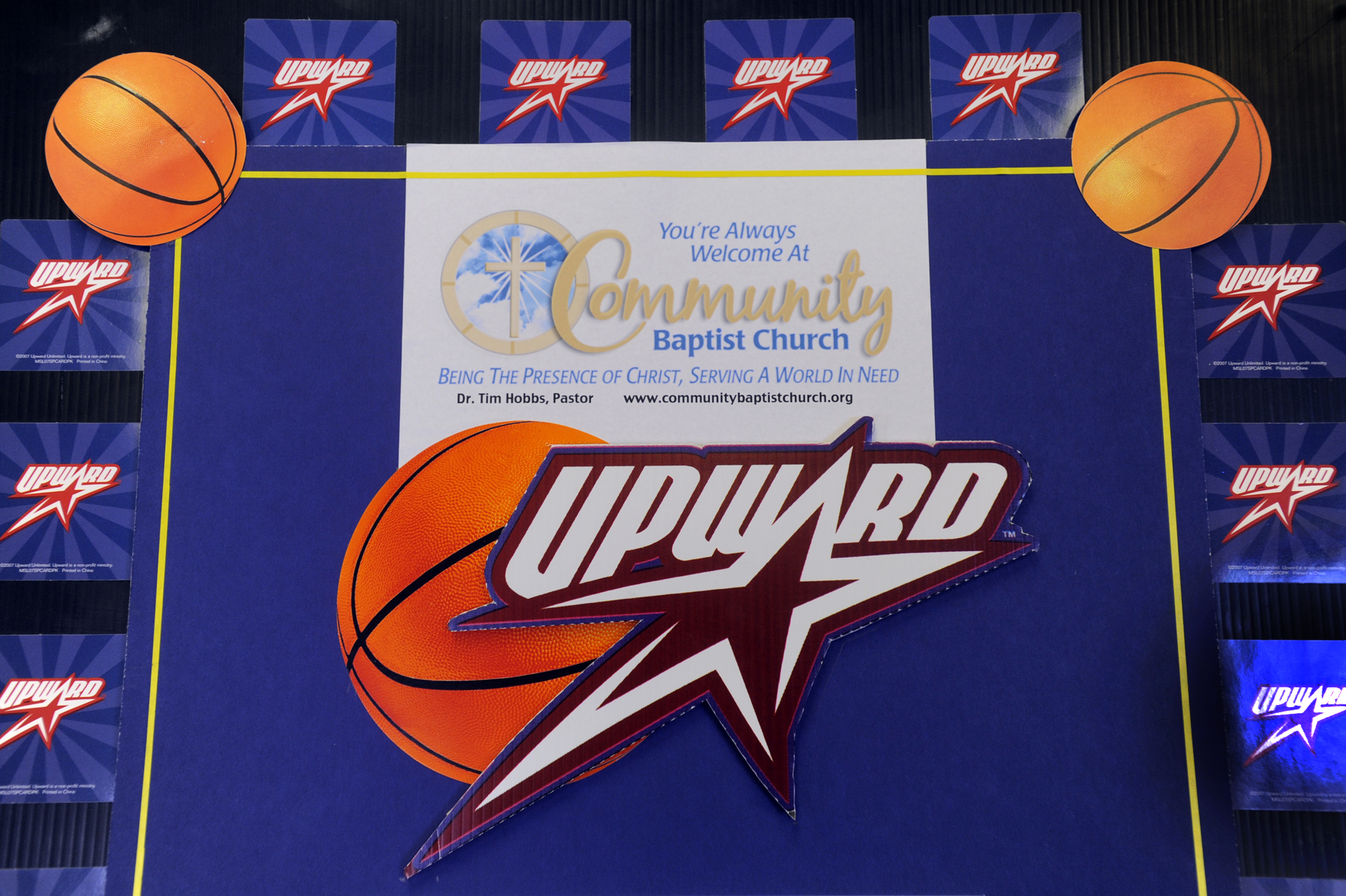 Upward Basketball and Cheer